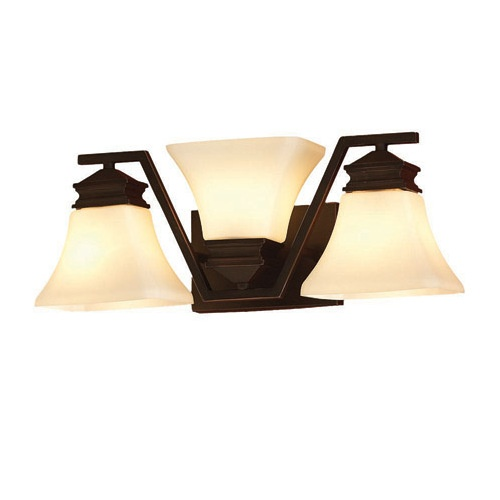 allen + roth 3Light OilRubbed Bronze Bathroom Vanity Light Item