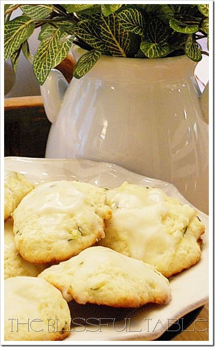Lemon zucchini cookies | C is for Cookie | Pinterest