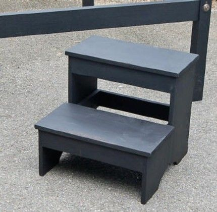 CRAFTED BED SIDE STEP STOOL GREAT FOR P JoyAndJoshua Furniture