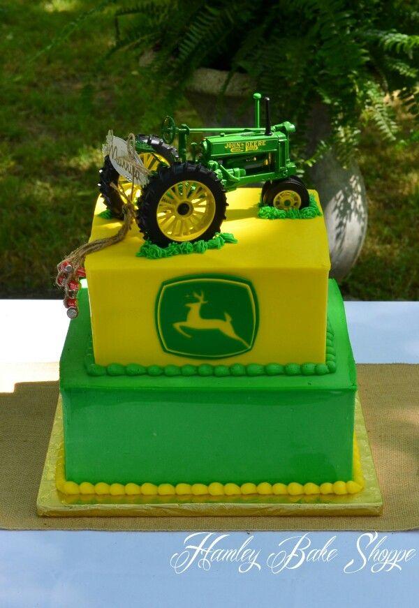 John Deere Cake Decorating Ideas Pinterest