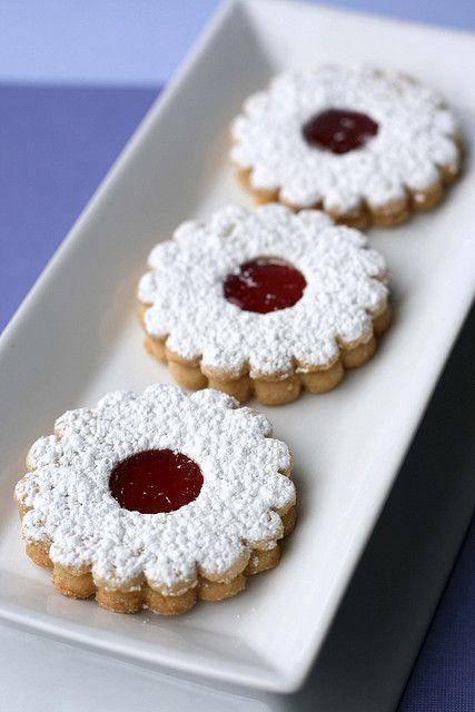 Linzer Cookies | Culinary Delights - Sweet | Pinterest