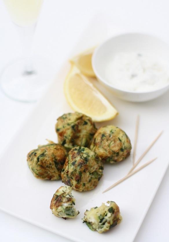Zucchini Feta Fritters | Food & Drink | Pinterest