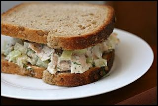 Cucumber Dill Chicken Salad Sandwich - The Kitchen Table - The Eat ...
