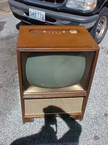 Estate vintage early 1950 39 s magnavox deluxe console for Floor model tv