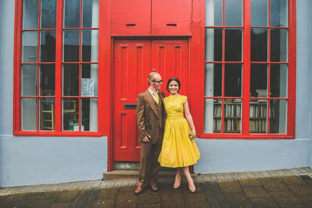 Short yellow wedding dress read more on one fab day http