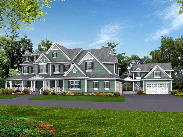 Country Farmhouse House Plan 87638