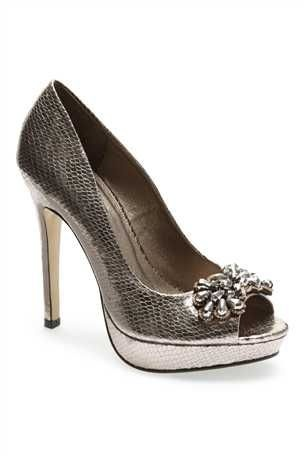 Gorgeous new pewter shoes bought to wear at my 40th party. Love them!