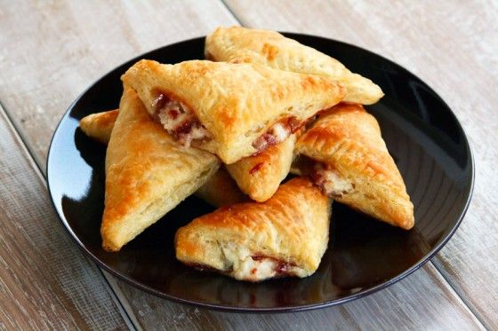Guava and Cream Cheese pastries