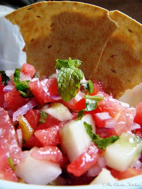 Watermelon Salsa | Cliente | Pinterest