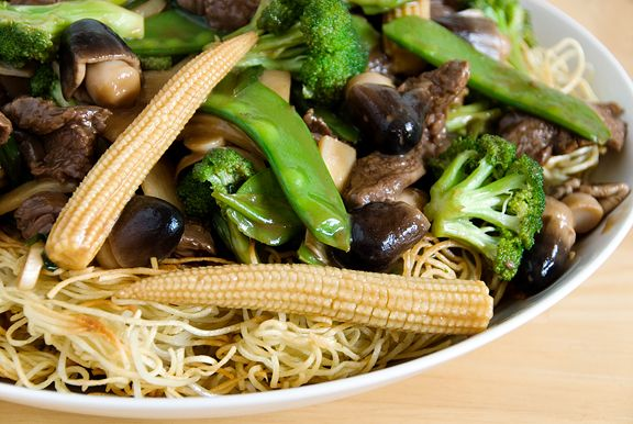 Chinese stir-fried beef noodles | Beef | Pinterest