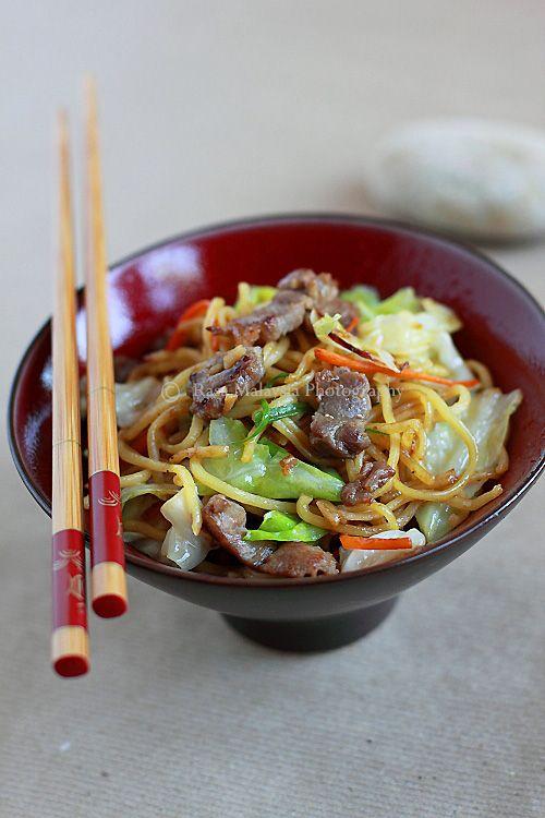 Yakisoba (Japanese Fried Noodles/焼きそば) recipe - Yakisoba is ...