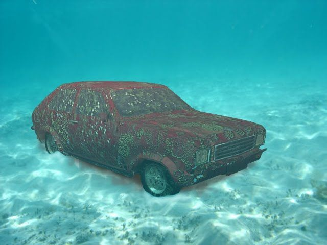 Cars Found Underwater : Sunken cars related keywords long tail