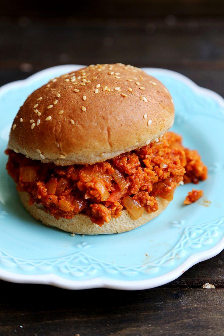Vegan Sloppy Joes | Vegan Meals | Pinterest
