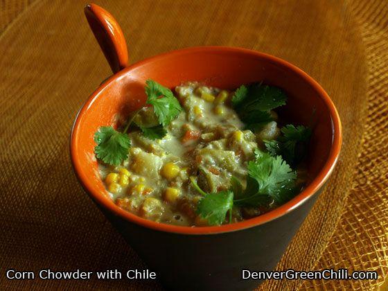 Corn Chowder with Chiles | Recipe