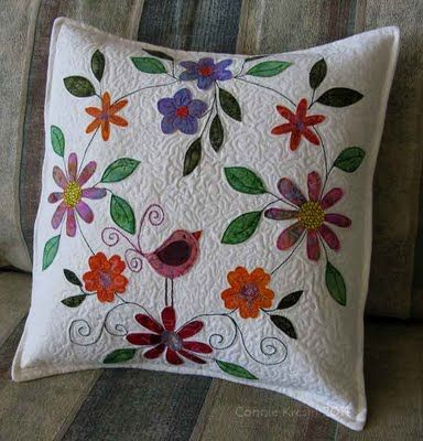 beats by dre prices Bird on a flower pillow tutorial  Embroidery