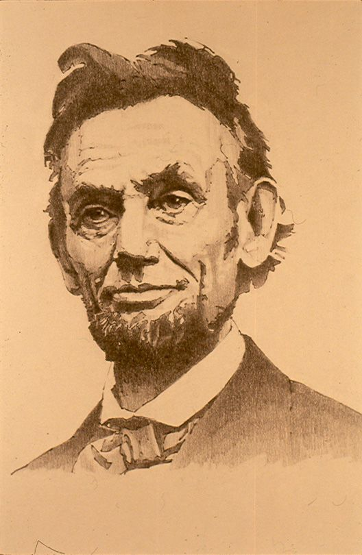 Quot Abraham Lincoln Quot Drawing 8x10 My Figurative Oil