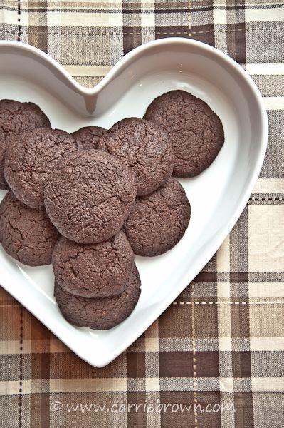 Dark Chocolate Espresso Cookies   Cookies   Pinterest