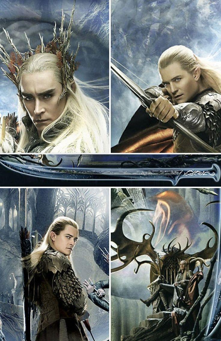 Thranduil legolas fantasy characters pinterest