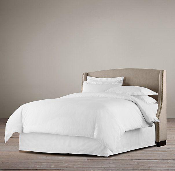 Best Restoration Hardware Warner Low Upholstered Beds Pinterest 400 x 300