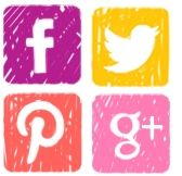 Icones de xarxes socials
