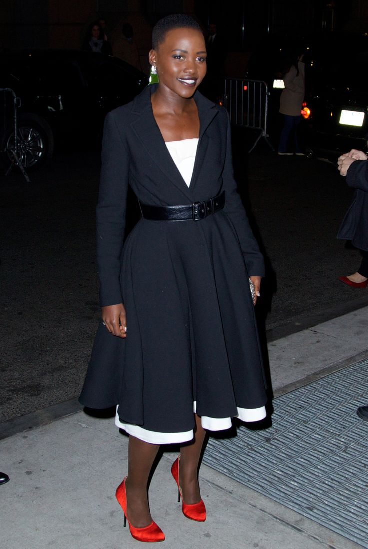 Lupita Nyong'o in Lanvin at the 2013 Gotham Awards