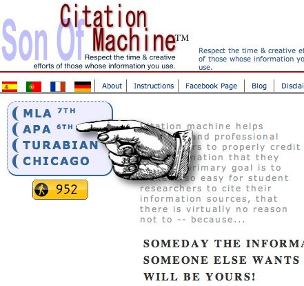 mla website citation machine