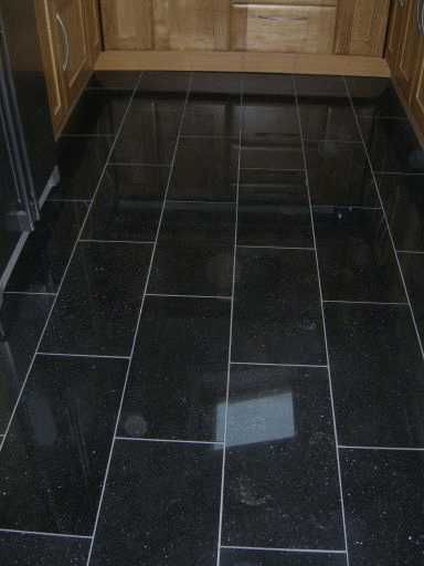 black kitchen floor kitchen pinterest