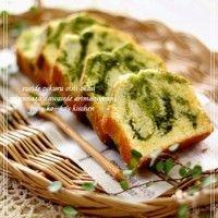 Marbled Matcha Pound Cake ♡ | Recipe
