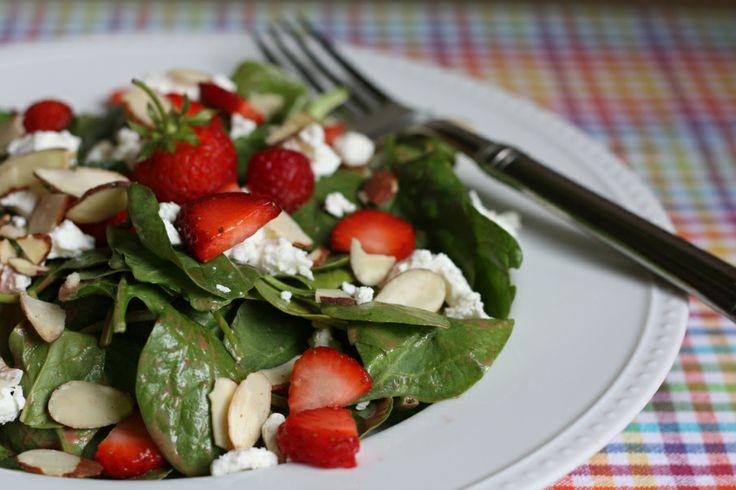 Spinach salad | Recipe Ideas | Pinterest