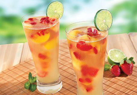 mocha cola iced coffee peach rosemary iced tea blueberry iced tea ...