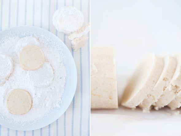 lemon almond meltaways | la scatola dei biscotti | Pinterest