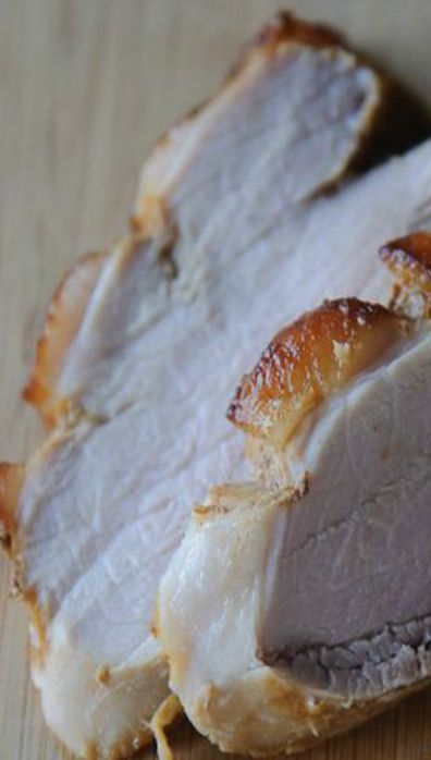 Roasted Fresh Ham with Bourbon, Citrus and Maple Glaze
