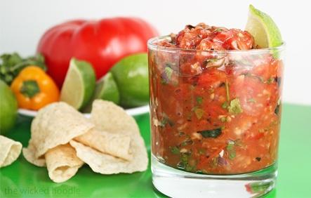 Tomato Chipotle Salsa | Appetizers ~ Snacks | Pinterest