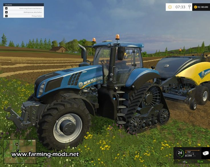 New Holland T8 435 SmartTrax   LS 2015 Mods   Pinterest: www.pinterest.com/pin/562105597215904172