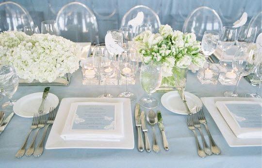 REVEL: Blue Tablescape