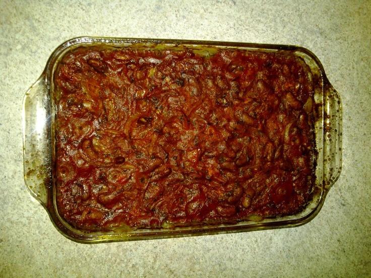 Gigantes Plaki sto Fourno (Greek baked beans in tomato sauce) This ...