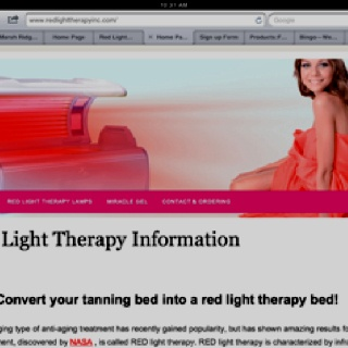 Red Light UV Free Tanning Helps Moisturize Skin Helps With Eczema
