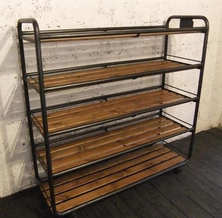 etagere style industriel bande transporteuse caoutchouc. Black Bedroom Furniture Sets. Home Design Ideas