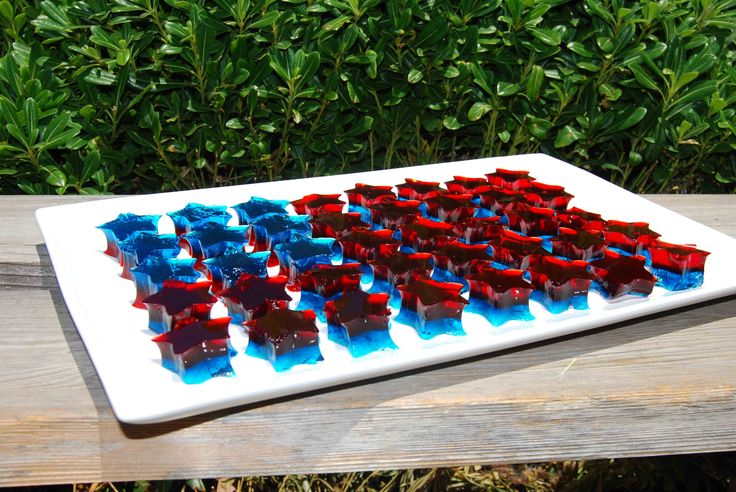 fourth of july jello shots recipe