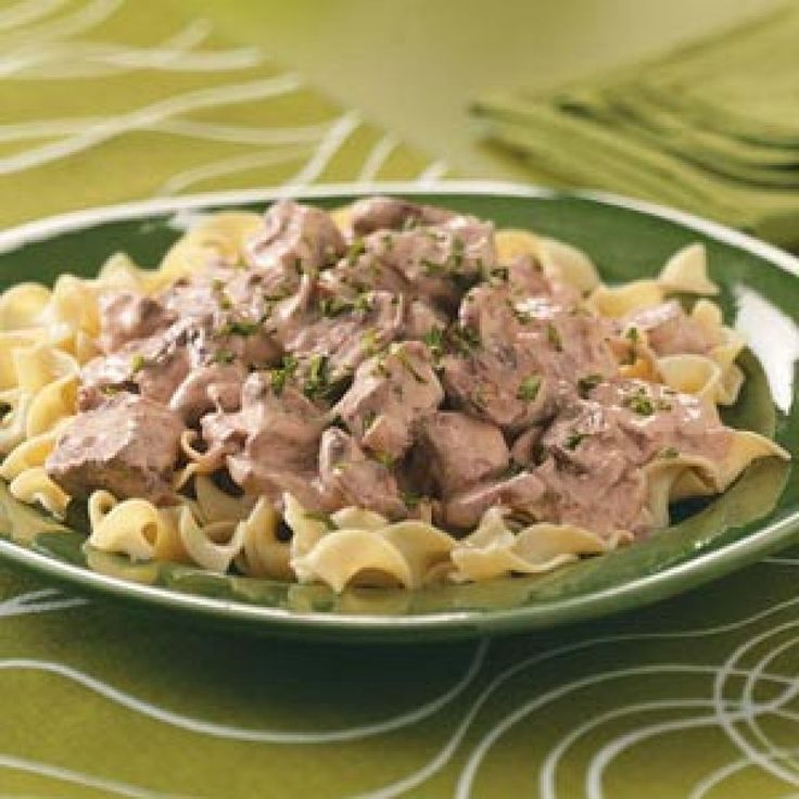 Yum... Id Pinch That! | Slow Cooker Beef Stroganoff Recipe