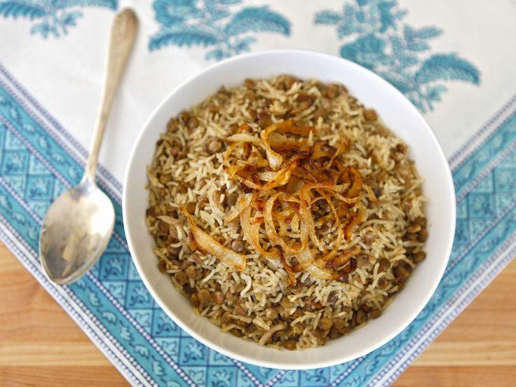 Mujadara - Traditional Middle Eastern Recipe