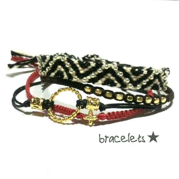 Stacked bracelets★ | Stuff to Buy | Pinterest