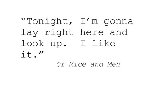 Of Mice And Men Book Quotes. QuotesGram
