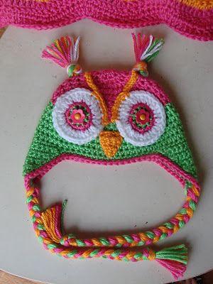 Free Crochet Pattern Owl Hat : FREE owl hat crochet pattern!!! crochet Pinterest