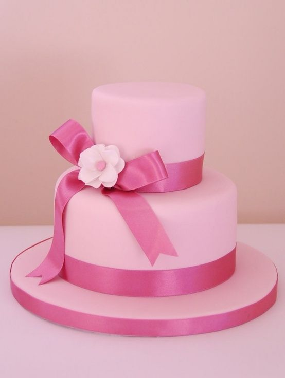 Cake Decorating Ribbon Ideas : Pink Ribbon Cake Decorating Tips/Ideas Pinterest