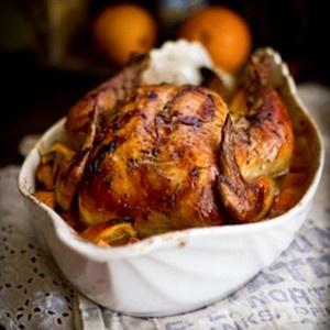 Roast Chicken with Wheat Beer | Chicken | Pinterest