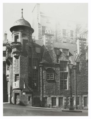 Lady Stair's House, as the Writers' Museum was then known as, taken in 1964.