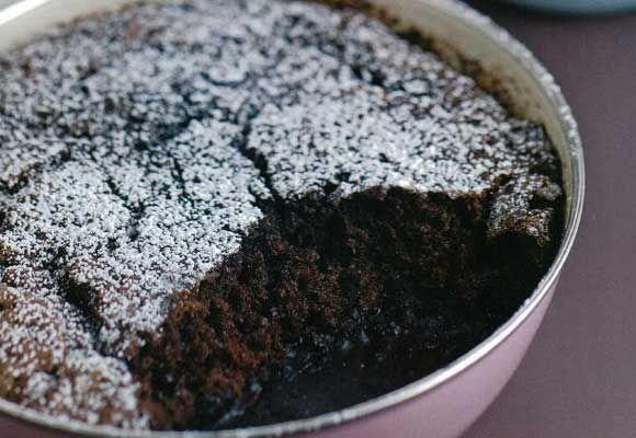 Chocolate self-saucing pudding | Yummy Food | Pinterest