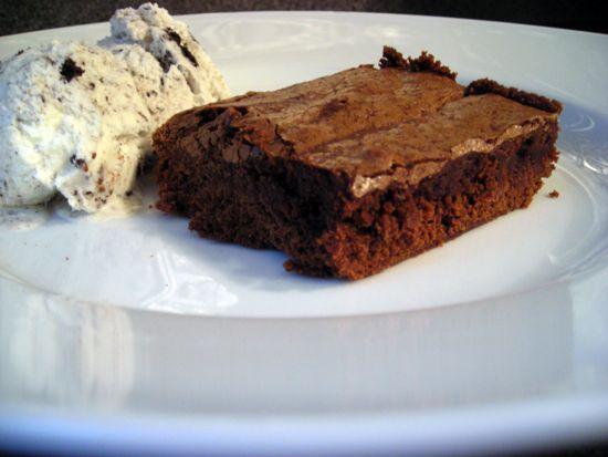 Easy Brownie Recipe | Food | Pinterest