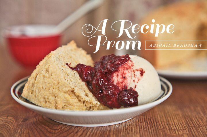 ... Cake, Roasted Strawberries + Buttermilk Ice Cream | Dearest Nature